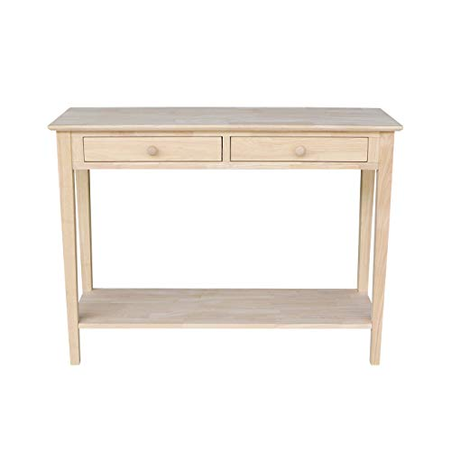 Console Unfinished Table - International Concepts Spencer Server Table