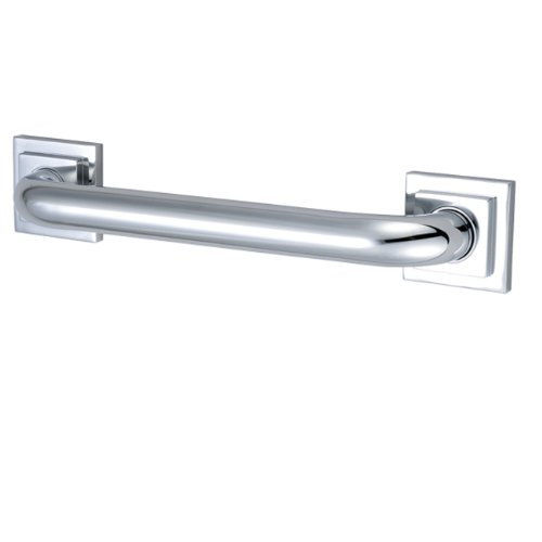 Kingston Brass DR614161 Designer Trimscape Claremont Decor 16-Inch Grab Bar with 1.25-Inch Outer Diameter, Polished Chrome ()