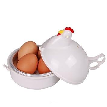 Diseño de gallina TinkSky carcasa de plástico para hervir huevos ...