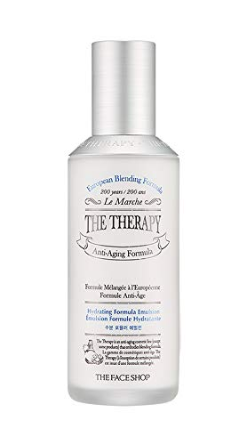 - [THEFACESHOP] The Therapy. Hydrating Formula Emulsion Anti Aging Wrinkle Care 130mL/4.3Oz