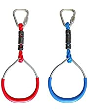 Slackers Gym Ring Accessories- Ninjaline, Slackline Obstacle, Ninja Warrior, Strength Training