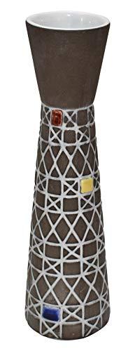Upsala-Ekeby Swedish Pottery Mid Century Modern Vase ()