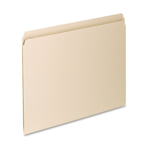 Pendaflex Essentials File Folder, 100 Box, Straight Cut, Letter, Manila (752EE)
