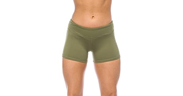 WOD Fitness Running Yoga I AM BECOMING IABMFG Premium 3 Workout Booty Shorts
