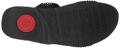 FitFlop Black Slide Glitzie Sandal Women's qrI1wEr
