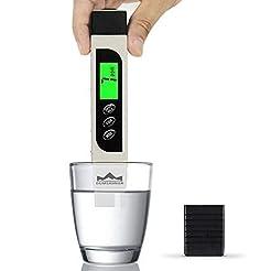 TDS Meter Digital Water Tester, DUMSAMKE...