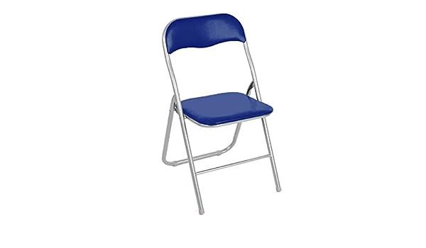 2008AN0816 Set de 2 sillas plegables mod. Madrid base metálica ...