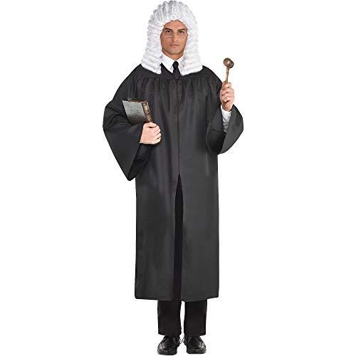 Adult Costume Black Judge's Robe]()