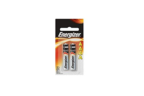 Six Energizer AAAA Alkaline Batteries for Streamlight Stylus Lights (4a Batteries)