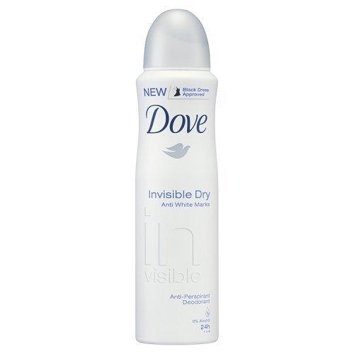 Dove Invisible Dry Anti White Marks Antiperspirant Deodorant, 150 Ml / 5 Oz (Pack of 6) International Version