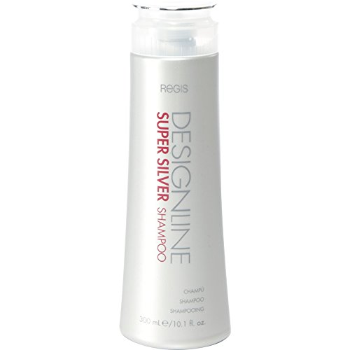 Super Silver Shampoo, 10.1 oz - Regis DESIGNLINE - Restores Moisture to Boost Color Brilliance for Blonde, Grey, White Hair and Strengthens, Detangles, Improves Elasticity to Prevent Color Fade