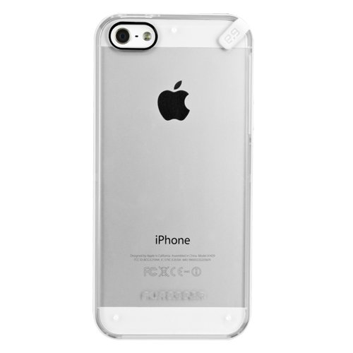 competitive price d83c1 29a7b PureGear Slim Shell for iPhone 5/s/SE - Clear/White