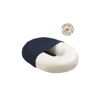 Invalid Ring with Cloth Cover Size: 18'' by Roscoe Medical