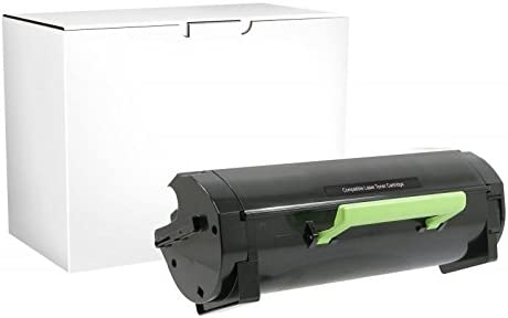 Ultra High Yield 20K Pages Inksters Remanufactured Toner Cartridge Replacement for Lexmark Compliant MS510DN MS610DE MS610DN MS610DTE MS610DTN MX510DE MX510DTE MX511DE MX511DHE MX511DTE Black