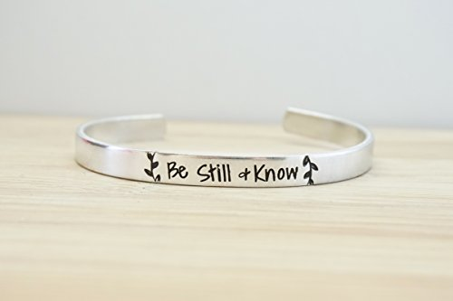 be-still-and-know-hand-stamped-cuff-bracelet