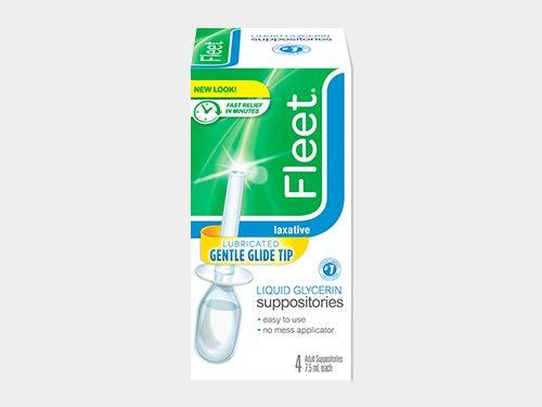 Fleet Laxative, Liquid Glycerin Suppositories