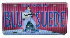 Elvis Presley License Plate ()