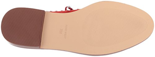 Women's Red Oxford Flat Nubuck Nine GARROY West Nubuck wSxqp4BO