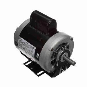 - 3/4 hp 1725 RPM 56 Frame 115/208-230V Belt Drive Cap Start Blower Motor Century # C666
