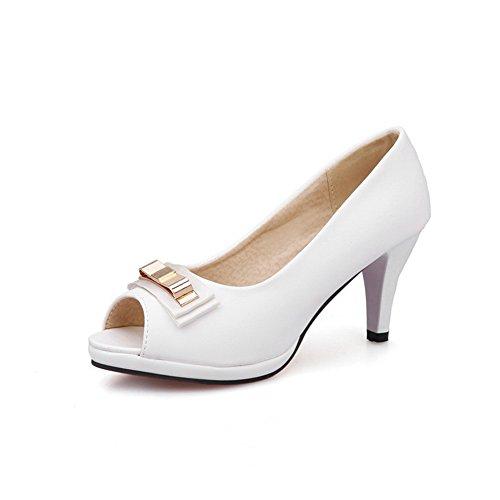 Sconosciuto 1TO9 Bianco EU White Donna Ballerine 35 xvBxqaw