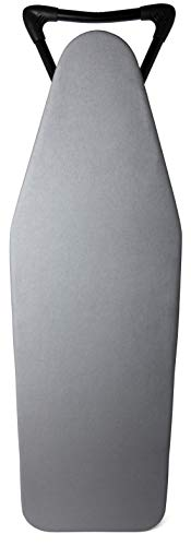 """TIVIT 15"""" x 48"""" Minky Ironing Board Cover & Pad, Italian Made, Upgraded Cover for Ergo, Ergo Pro, Hot Spot Pro, Ergo Plus, Alumitek Treated Triple Layer with Straps - Color: Gray (Patent Pending)"""