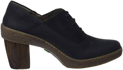 El Black Black Lichen Heels N5174 Pleasant Naturalista Toe Closed Women's Black Black SnqfBxwSr