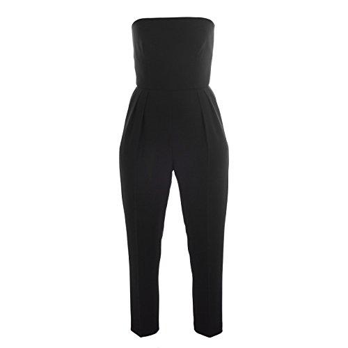 Max Mara Pianoforte Women's Martina Strapless Jumpsuit Black