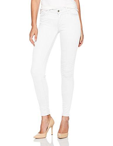 White Levi Jeans (Levi's Women's 710 Super Skinny Jeans, Roller Girl, 30 (US 10) R)