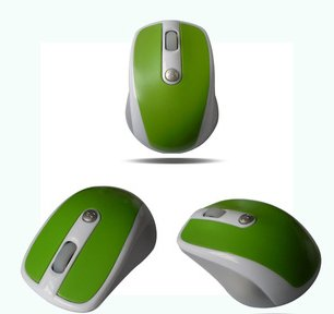 Domire Wireless 2.4G Optical Mouse For PC Computer Laptop Green