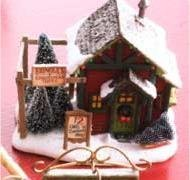 Kringle Christmas Tree Kringlewood Farms collection 2007 Hallmark Ornament QP1909