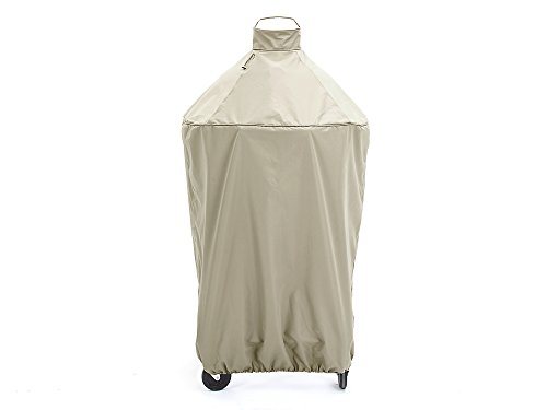 CoverMates – Kamado Full Grill Cover – 29 DIAMETER x 48H – Elite Collection – 3 YR Warranty – Year Around Protection - Khaki