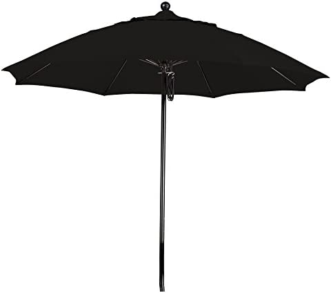 California Umbrella 9' Round 100 Fiberglass Frame Market Umbrella