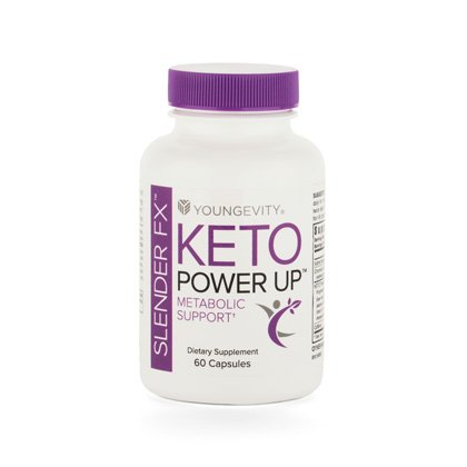 Slender FX™ Keto Power Up™ Enengy & Weight Control (60 capsules) 4 Pack by Youngevity
