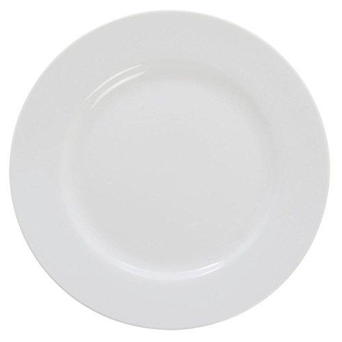ITI BL-26 Bristol Porcelain 8-Inch Fine Porcelain Soup Bowl, 16-Ounce, Bright White, 36-Piece
