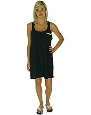 Women's Natural Connection Tank Dress Swim Cover Up