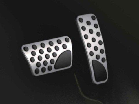 Dodge Challenger/Charger 2008-2016 Bright Pedal Pad Cover Kit-Mopar OEM