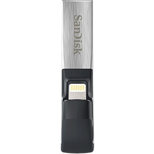 SanDisk 128GB iXpand lightning USB 3.0 Flash Drive - 128 GB