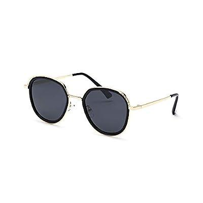 FeliciaJuan HD Lens Mirrored Unisex Polarized Sunglasses Vintage Sun Glasses