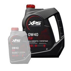 BRP Ski-Doo Can-Am Sea-Doo XPS OEM 4-Stroke Full Synthetic Oil Gallon, 779140 (Brp Xps Synthetic Blend 4 Stroke Oil)