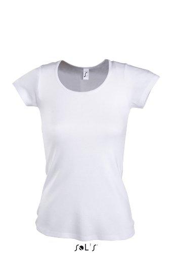Sol 's–Women–Camiseta Moody blanco