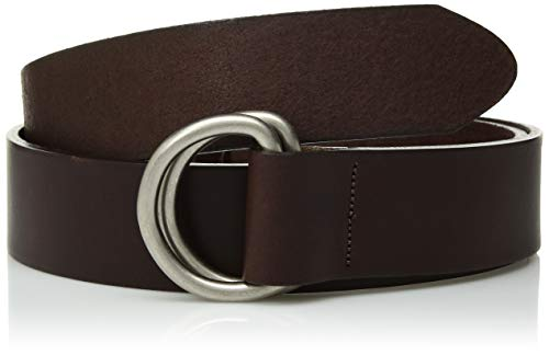 Mountain Khakis Men's Leather D Ring Belt, Brown, Large (36-38 -Inch)
