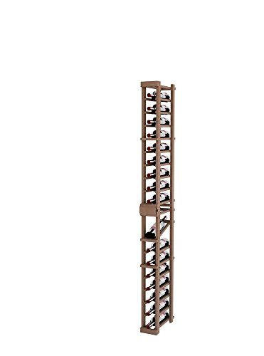 Vintner Series Wine Rack - 1 Column with Display - 6 Ft (6 Column Wine Rack)