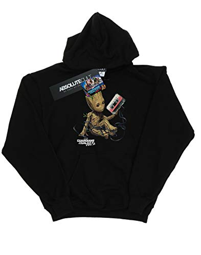 Marvel para con Sudadera de capucha mujer Guardians The The negra Grovel Tape Of de Galaxy YBxXpdx