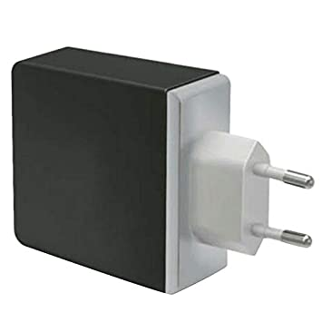 Nrpfell Cargador Inteligente USB Adaptador De Pared Múltiple ...