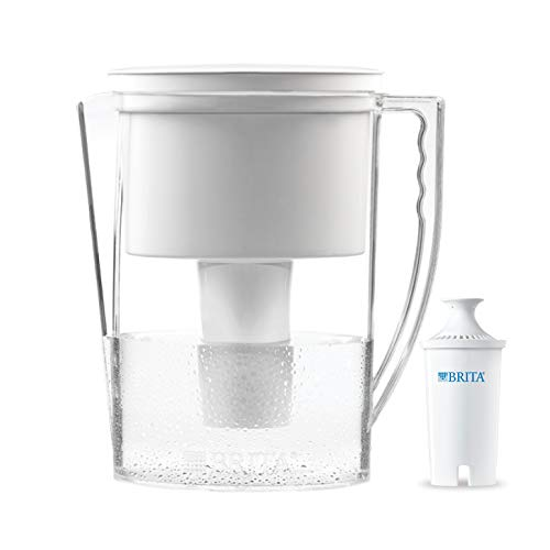 Brita 42629 Slim Water Filter Pitcher, 5 Cup food White