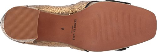 Kenneth Cole New York Womens Macey Kiltie Teen Suede Jurk Pump Gold