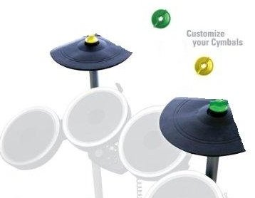 Rock Band 2 Double Cymbal Expansion Kit double cymbal for...