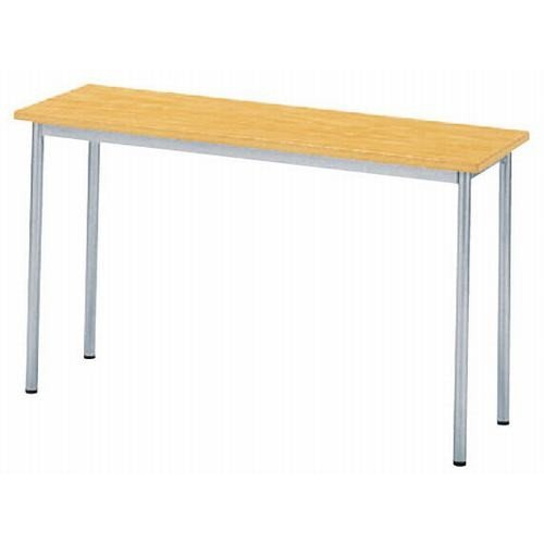 テーブル WT-1240 120NA [120 x 40 x H70cm] 木製品 (7-766-2) 料亭 旅館 和食器 飲食店 業務用 B01H2TT69M