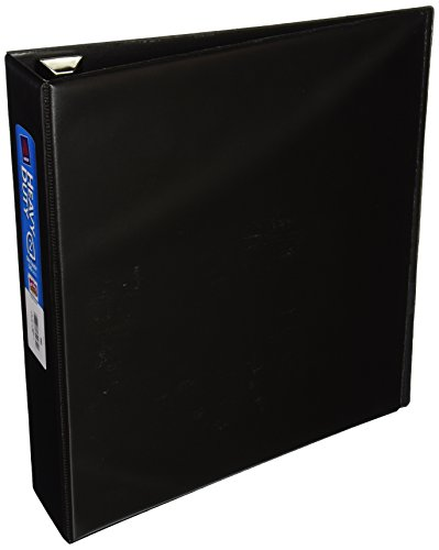 Avery Heavy-Duty Binder with 2-Inch One Touch EZD Ring, Black (79982)
