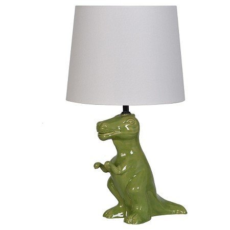 New Dinosaur Table Lamp Green (Includes CFL bulb)